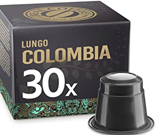 Single-Origin Lungo Colombia by REAL COFFEE, Denmark, 30 Capsules, Nespresso Compatible