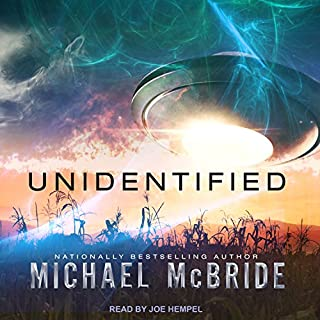 Unidentified audiobook cover art