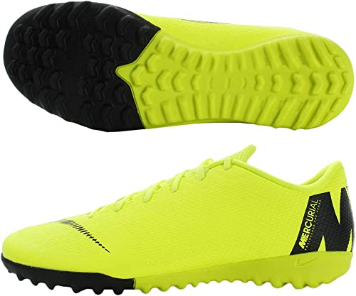 Nike Mercurialx Vapor XII Academy IC, Hausschuhe de Fútbol para Hombre, grau (Wolf grau Lt Crimson-Pure Plat 060), 44 EU