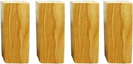 Massief hout vervanging voeten, houten meubels benen voeten vervanging taps toelopende meubels benen voeten voor kast stoe...