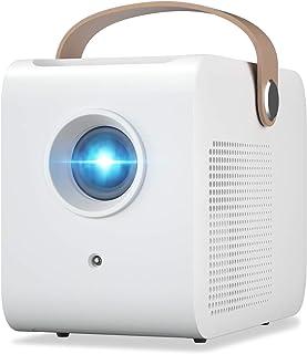 CRE C1 Mini proyector portátil, tamaño pequeño para pelí