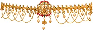 Preyans From Jaipur Mart Kamarband Belly-Chain Tagdi for Women(Golden) (KMBND300MG)