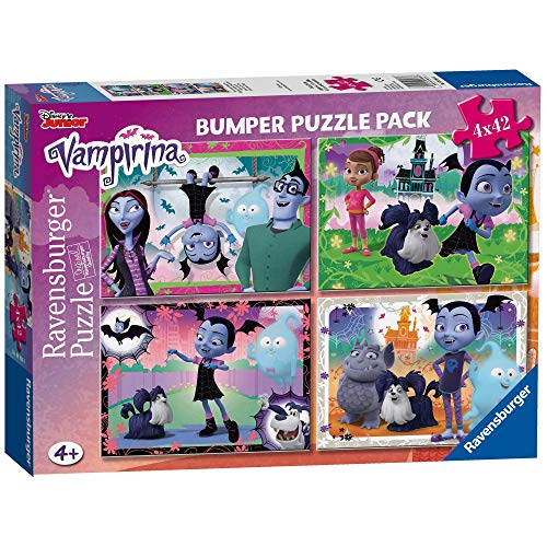 Ravensburger Italy Vampirina Puzzle, Multicolore, 4X42 Pezzi, 6986