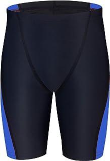 Dovio Boys' UPF 50+ Swim Jammer Youth Quick Dry Athletic Training Swimming Short