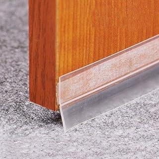 GGJIN Insulation And Waterproof Door And Window Rubber Seal Strip (Color : Black)