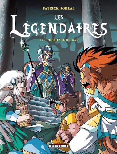 Les Légendaires T14 L'Héritage du mal (DELC.JEUNESSE)