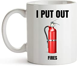 Firefighter Cup 11 Ounce Firefighter Gifts For Men Fireman Gifts For Men Fire Department Gifts