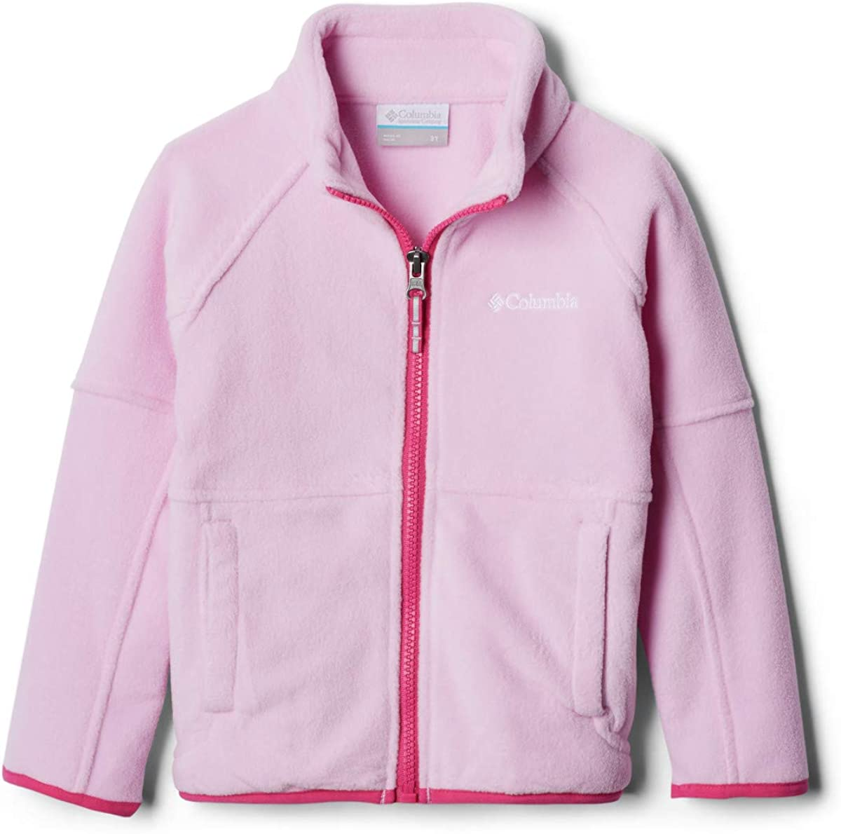 Columbia Youth Basin Las Vegas Mall Trail Excellence Fleece Zip Soft Jacket Full