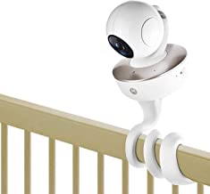 iTODOS Baby Monitor Mount for Arlo, Motorola Baby Monitor and Most Universal Monitors Camera, Versatile Twist Mount Without Tools or Wall Damage - White