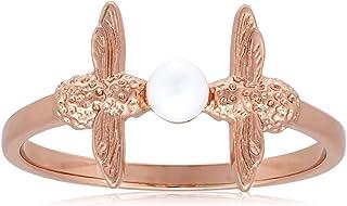 Olivia Burton Women's Pearl Bee Ring - OBJAMR12S