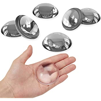 Door Stopper Wall Protector 4pcs Shock Absorbent Gel Adhesive Reusable Bumper Protector Wall Shield /& Silencer for Door Handle