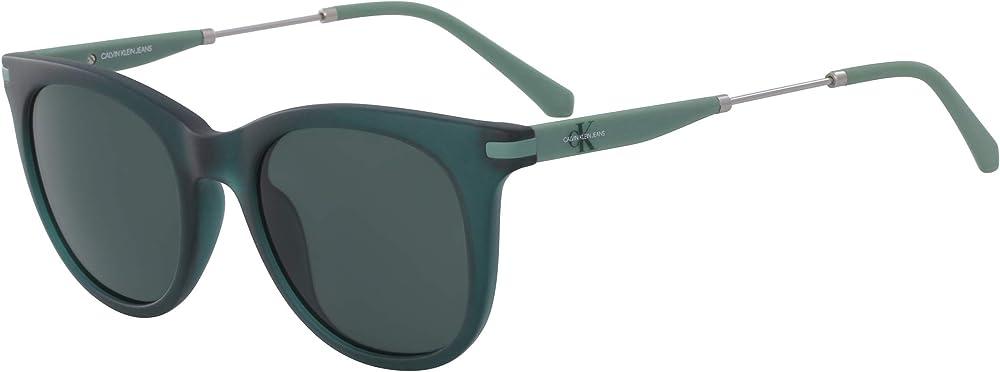 Calvin klein, occhiali da sole per donna, montatura in acetato, lenti colore grigio CKJ19701S