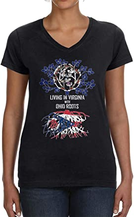 Tenacitee Babys Living in Florida Illinois Roots Shirt