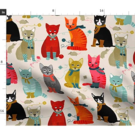 Cats /& Kittens Cotton Fabric by The Yard