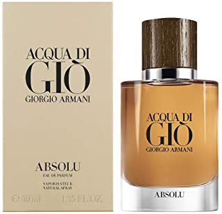 Giorgio Armani Acqua Di Gio Absolu Eau De Parfum Spray For Men, 40 ml