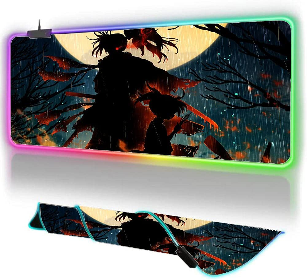 Gaming Mouse Pads Dororo Extra Max 64% OFF 5 popular Pad Large Led RG XXL