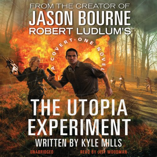 Robert Ludlum's The Utopia Experiment audiobook cover art