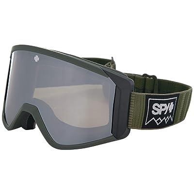 Spy Optic Raider (Deep Winter Olive Happy Bronze w/ Silver Spectra+Yellow) Snow Goggles
