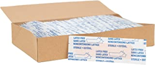 "American White Cross Adhesive Bandages, Sheer Strips, 3/4"" x 3"", Case of 1500"