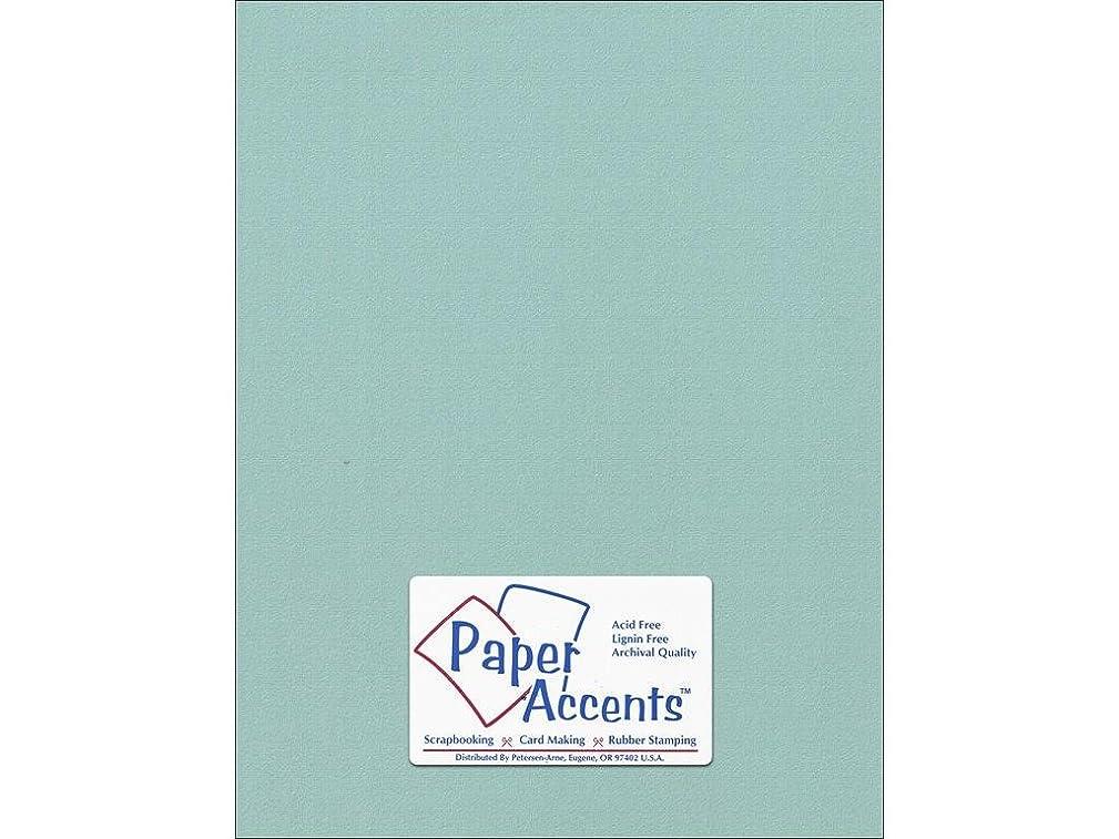 Accent Design Paper Accents Cdstk Muslin 8.5x11 74# Seafoam