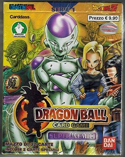 Dragon Ball Card Game Serie 1 Starter Deck Super Nemici Foil