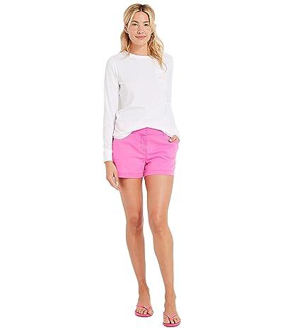 Vineyard Vines 3.5 Everyday Shorts (Knockout Pink) Women