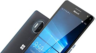 "Microsoft Lumia 950 XL RM-1085 32GB Black, Single Sim, 5.7"", 20MP, 3GB Ram, Unlocked International Model, No Warranty"