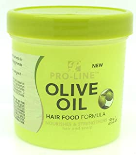 Pro-Line Hair Food Olive Oil, 4.5 Ounce