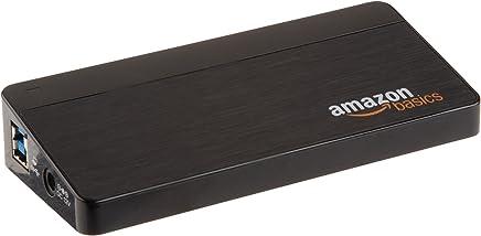 AmazonBasics 7 Port USB 3.0 Hub with 12V/3A Power Adapter