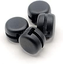2 Pairs Black Winder Plug Holder Cable Management Clip for Beats Powerbeats 2 3 Urbeats Earphones