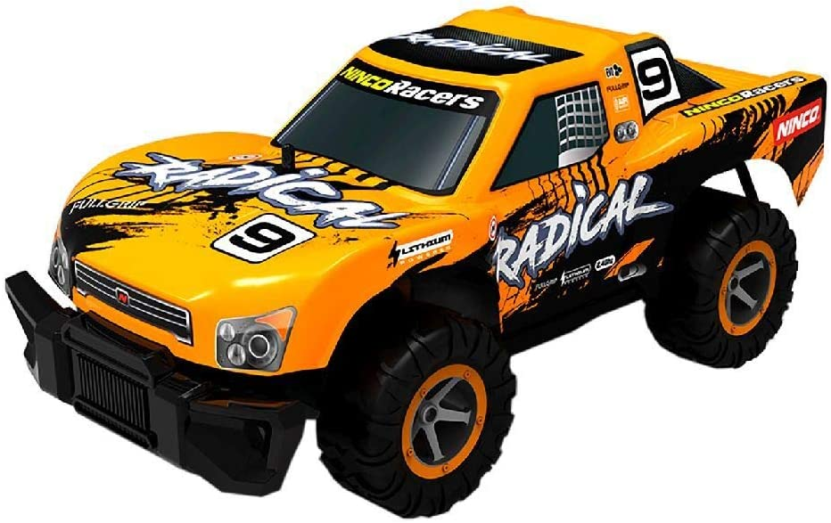 Ninco Racers - Radical. Coche Teledirigido. Emisora 2,4 GHz. Color Naranja. +6 años. NH93161