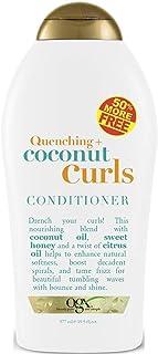 Ogx Conditioner Coconut Curls 19.5 Ounce Bonus (577ml)