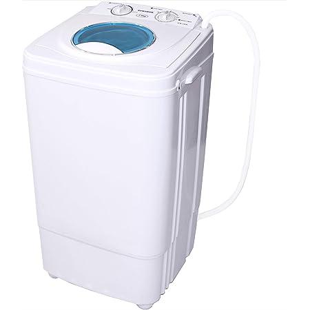 Machine à laver Syntrox Germany - Avec essoreuse - Classe énergétique A - 7 kg - Petit format, pour camping