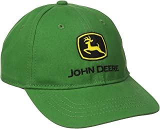 John Deere Boys' Trademark Baseball Cap, Green, Toddler