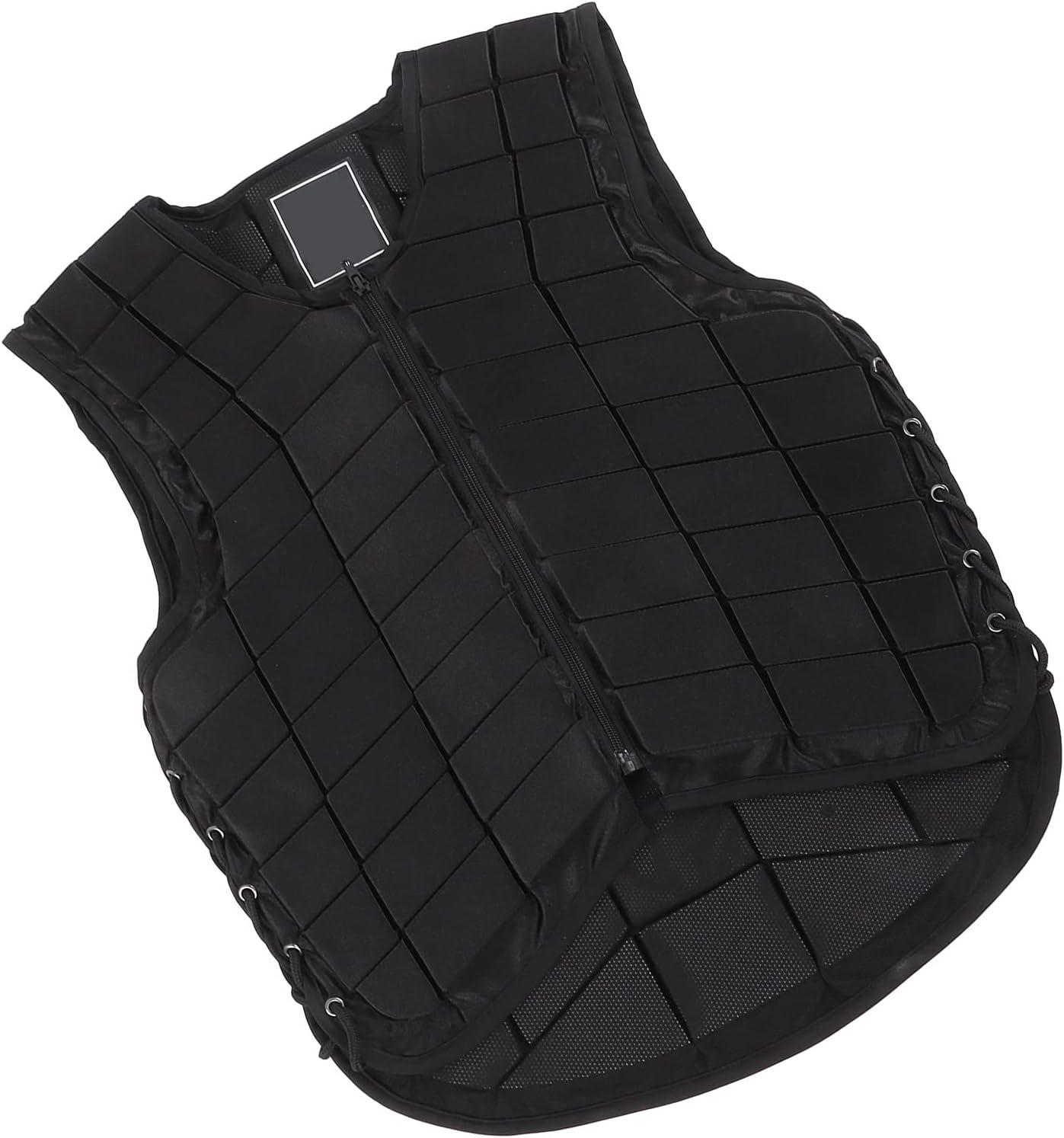KASD Protección del Cuerpo Ecuestre, Chaleco Ecuestre Acolchado extendido para Adultos Protección para Montar a Caballo para Proteger al Usuario