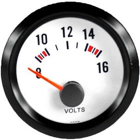 E Support Trade 2 52mm Auto Kfz Voltmeter Universal Led Anzeige Batteriespannung Auto Instrument Auto