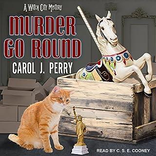 Murder Go Round audiobook cover art