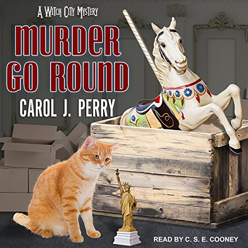 Murder Go Round     Witch City Mystery Series, Book 4              By:                                                                                                                                 Carol J. Perry                               Narrated by:                                                                                                                                 C.S.E. Cooney                      Length: 10 hrs and 27 mins     112 ratings     Overall 4.5
