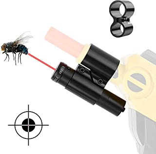 LIRISY Salt Gun Laser Sight, Aiming Scope fit 3.0, Compatible with All Versions of Bug A Fly Salt Gun Accessories