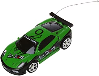 SODIAL Mini RC Remote Controlled Car Racing Car Toys in The Beverage can 1:58 (Green) New