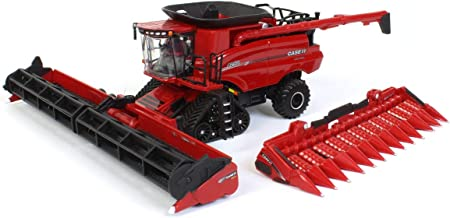 ERTL 1/64 Limited Edition 2020 Farm Show, Case IH 8250 Axial Flow Combine with Soft Feel Tracks, One Time Production 44209