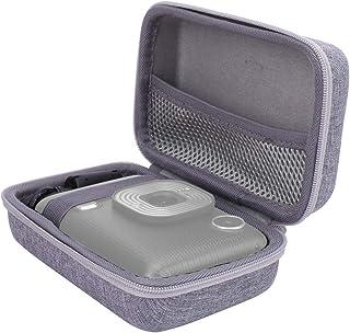 Aenllosi Hard Travel Case for Fujifilm Instax Mini LiPlay Camera (Gray)