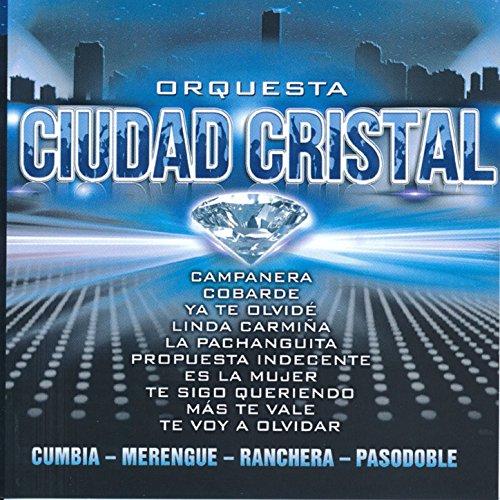 Orquesta Ciudad Cristal. Cumbia, Merengue, Ranchera, Pasodoble.