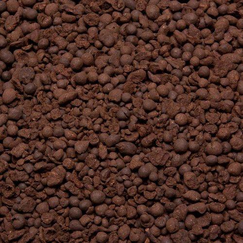 1 Liter Schwarztorf Filtergranulat 3,5-8,0 mm, 1000 ml geeignet für Aquarium und Teich
