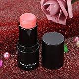 Blush Stick 3 colores Rubor natural Maquillaje Rouge Powder Stick Air Cushion Blush (3#)