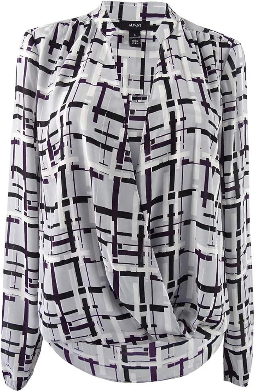 Alfani Women's Printed Surplice Tunic