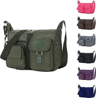 KARRESLY Women's Shoulder Bags Casual Handbag Travel Bag Messenger Cross Body Nylon Bags Purse