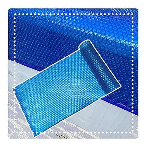 QIANDA Cobertor Piscina Cubierta De Invierno, Exterior Inflable Piscina Película De Aislamiento Calefacción Espesor 400μm por En El Suelo Y sobre El Suelo Quinielas (Color : Blue, Size : 152x152cm)