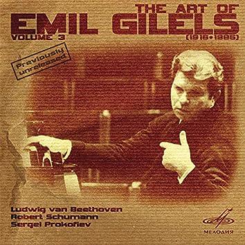 Art of Emil Gilels, Vol. 3