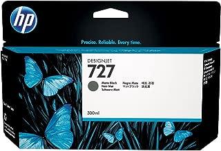 HP 727 C1Q12A 300-ml Matte Black DesignJet Ink Cartridge
